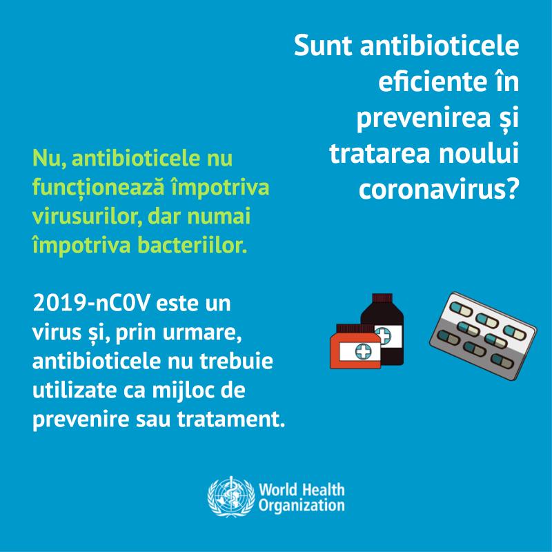 Măsuri de prevenire împotriva infectării cu virusul COVID (Coronavirus)