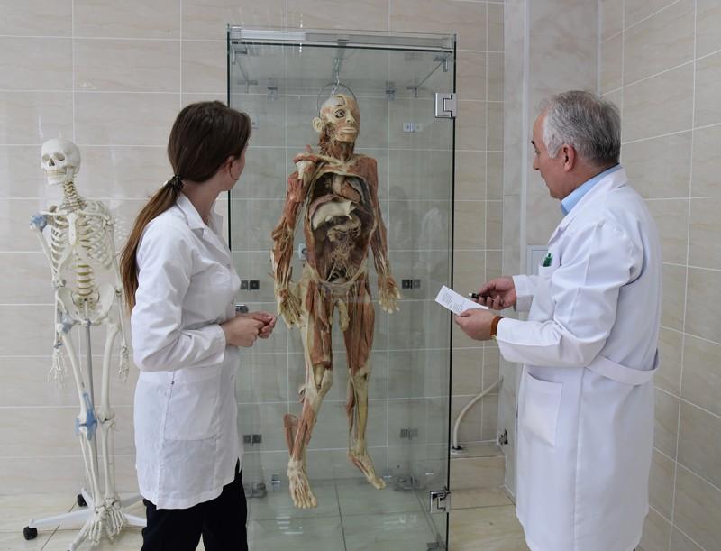 Premieră la Catedra de anatomie a omului